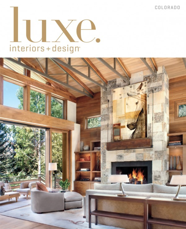 Luxe Magazine Studio M Telluride CO Interior Design Inspiration Colorado Home Design