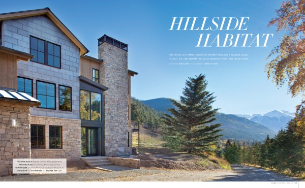 Modern Exterior | Colorado Architecture | Luxe Magazine | Studio M | Telluride CO | Interior Design