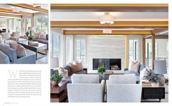 Living Room | Home Ideas | Luxe Magazine | Studio M | Telluride CO | Interior Design